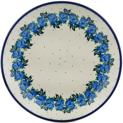 Polish Pottery 10-inch Plate | Boleslawiec Stoneware | Polmedia H0917I
