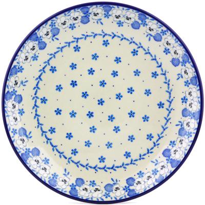 Polish Pottery 10-inch Plate | Boleslawiec Stoneware | Polmedia H6716I