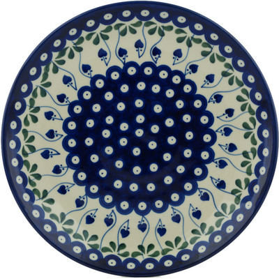 Polish Pottery 10-inch Plate | Boleslawiec Stoneware | Polmedia H4210B