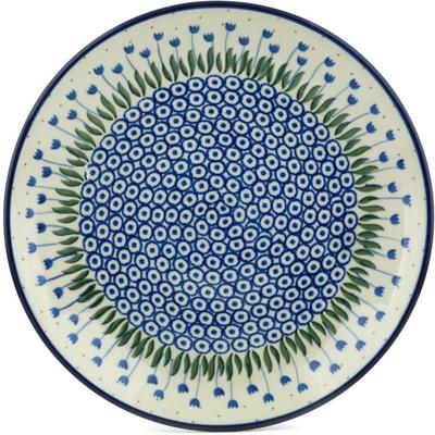 Polish Pottery 10-inch Plate | Boleslawiec Stoneware | Polmedia H2614C