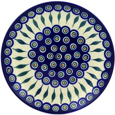 Polish Pottery 10-inch Plate | Boleslawiec Stoneware | Polmedia H8822A