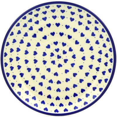 Polish Pottery 10-inch Plate | Boleslawiec Stoneware | Polmedia H0312F