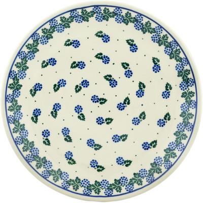 Polish Pottery 10-inch Plate | Boleslawiec Stoneware | Polmedia H2529C
