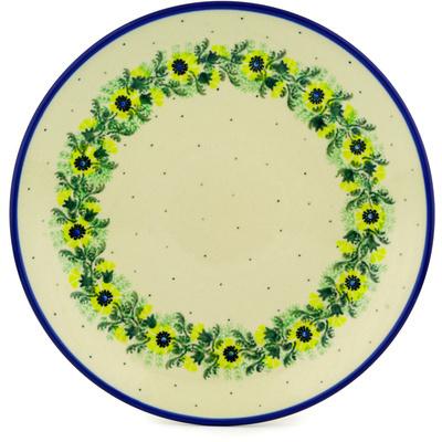 Polish Pottery 10-inch Plate | Boleslawiec Stoneware | Polmedia H0053D