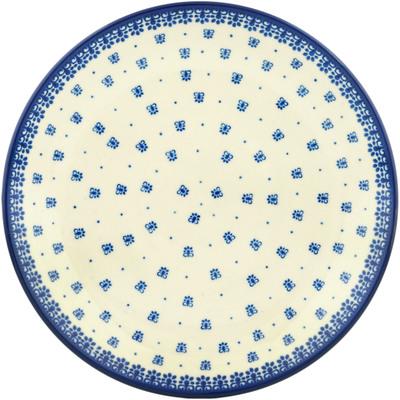 Polish Pottery 10-inch Plate | Boleslawiec Stoneware | Polmedia H2503C