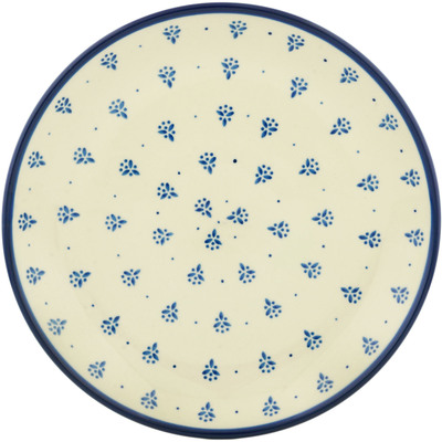 Polish Pottery 10-inch Plate | Boleslawiec Stoneware | Polmedia H2518C