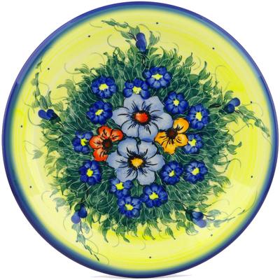 Polish Pottery 10-inch Plate | Boleslawiec Stoneware | Polmedia H1446J