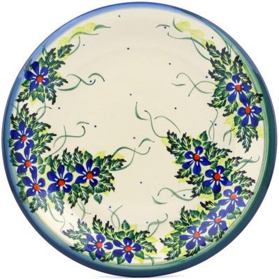 Polish Pottery 10-inch Plate | Boleslawiec Stoneware | Polmedia H1450J