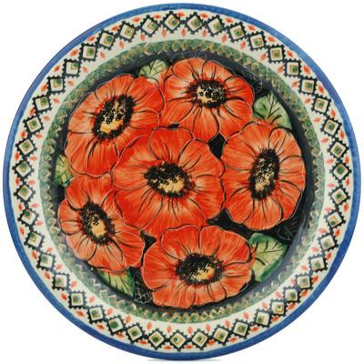 Polish Pottery 10-inch Plate | Boleslawiec Stoneware | Polmedia H9603B