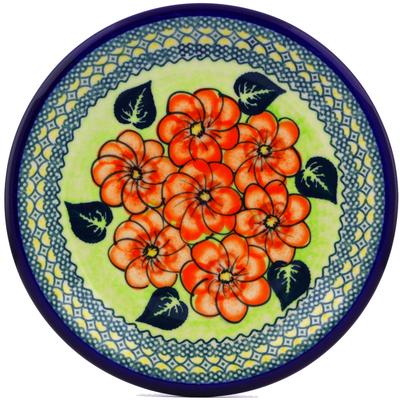 Polish Pottery 10-inch Plate   Boleslawiec Stoneware   Polmedia H0100J