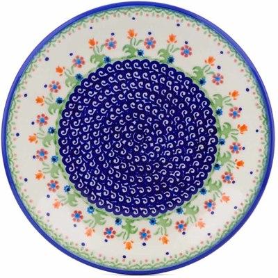 Polish Pottery 10-inch Plate | Boleslawiec Stoneware | Polmedia H1266J