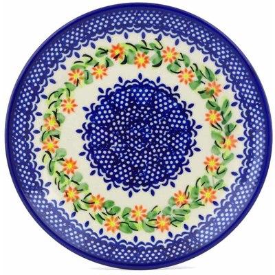 Polish Pottery 7-inch Plate | Boleslawiec Stoneware | Polmedia H1273J