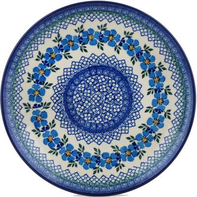 Polish Pottery 10-inch Plate | Boleslawiec Stoneware | Polmedia H0172I