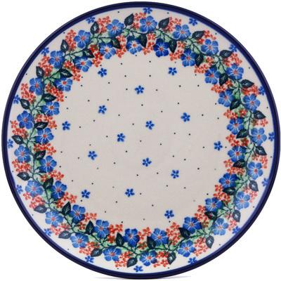 Polish Pottery 10-inch Plate | Boleslawiec Stoneware | Polmedia H0183G