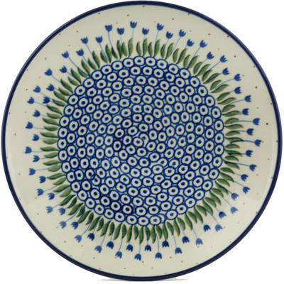 Polish Pottery 10-inch Plate | Boleslawiec Stoneware | Polmedia H1739I