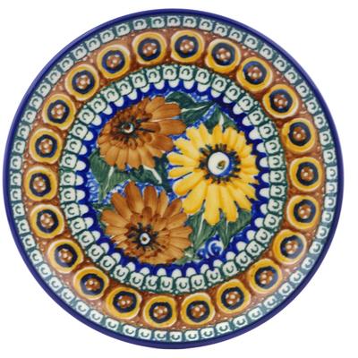 Polish Pottery 6-inch Plate | Boleslawiec Stoneware | Polmedia H4648A