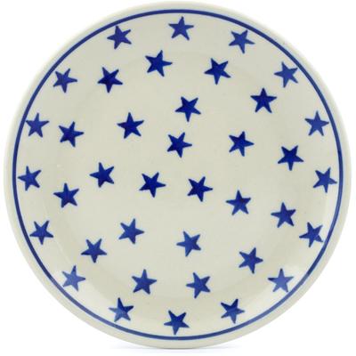 Polish Pottery 6-inch Plate | Boleslawiec Stoneware | Polmedia H8915A