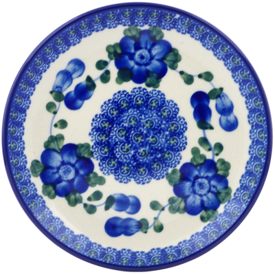 Polish Pottery 6-inch Plate | Boleslawiec Stoneware | Polmedia H4632A