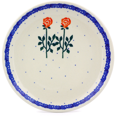 Polish Pottery 6-inch Plate | Boleslawiec Stoneware | Polmedia H4637A