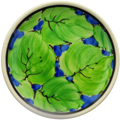 Polish Pottery 4-inch Plate | Boleslawiec Stoneware | Polmedia H3191E