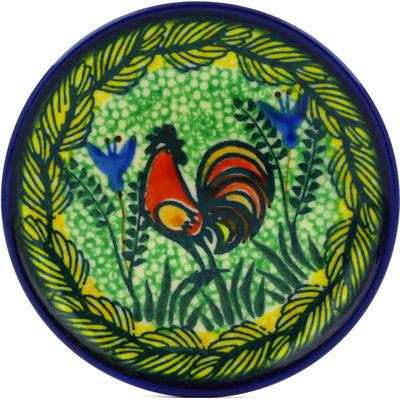Polish Pottery 4-inch Plate | Boleslawiec Stoneware | Polmedia H0686E