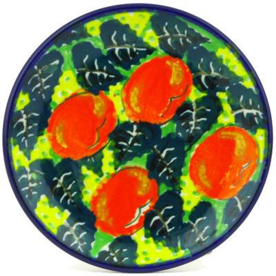 Polish Pottery 4-inch Plate | Boleslawiec Stoneware | Polmedia H3953G