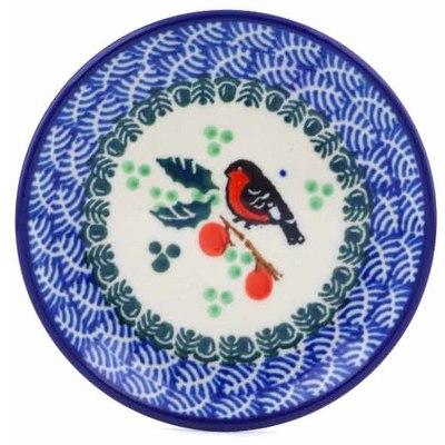 Polish Pottery 4-inch Plate | Boleslawiec Stoneware | Polmedia H0097J