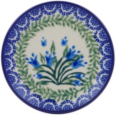Polish Pottery 4-inch Plate | Boleslawiec Stoneware | Polmedia H0095J