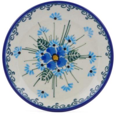 Polish Pottery 4-inch Plate | Boleslawiec Stoneware | Polmedia H0077J