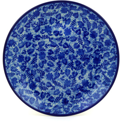 Polish Pottery 9-inch Plate | Boleslawiec Stoneware | Polmedia H4852D