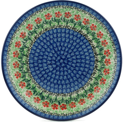 Polish Pottery 9-inch Plate | Boleslawiec Stoneware | Polmedia H3781I