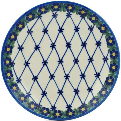 Polish Pottery 7-inch Plate | Boleslawiec Stoneware | Polmedia H1886I