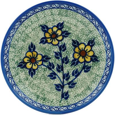 Polish Pottery 7-inch Plate   Boleslawiec Stoneware   Polmedia H1889I