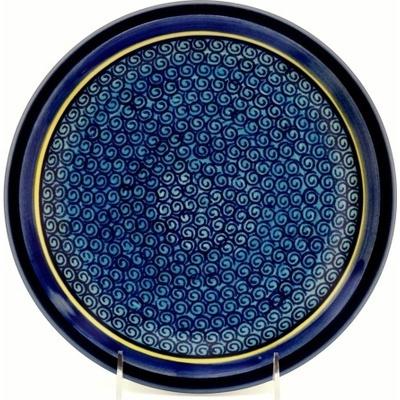Polish Pottery 9-inch Plate | Boleslawiec Stoneware | Polmedia H0073A