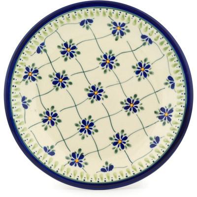 Polish Pottery 9-inch Plate | Boleslawiec Stoneware | Polmedia H6753C