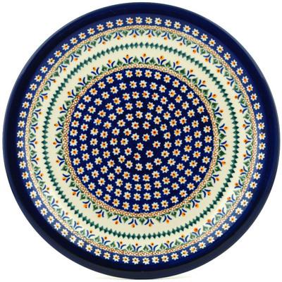 Polish Pottery 11-inch Plate | Boleslawiec Stoneware | Polmedia H0165A