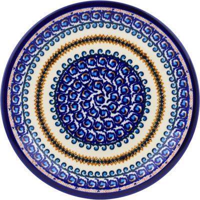 Polish Pottery 11-inch Plate | Boleslawiec Stoneware | Polmedia H0168A