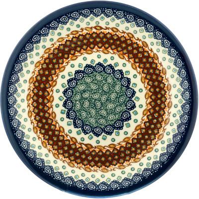 Polish Pottery 11-inch Plate | Boleslawiec Stoneware | Polmedia H0171A