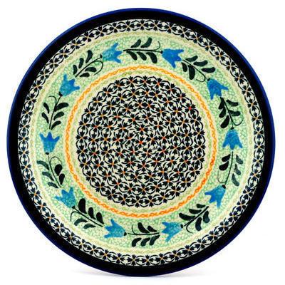 Polish Pottery 11-inch Plate | Boleslawiec Stoneware | Polmedia H4080C