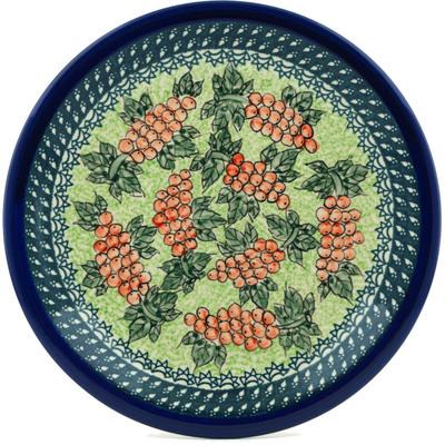 Polish Pottery 11-inch Plate | Boleslawiec Stoneware | Polmedia H0179A