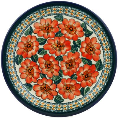 Polish Pottery 11-inch Plate | Boleslawiec Stoneware | Polmedia H0180A