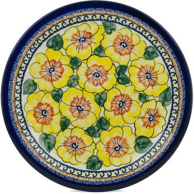 Polish Pottery 11-inch Plate | Boleslawiec Stoneware | Polmedia H7369A
