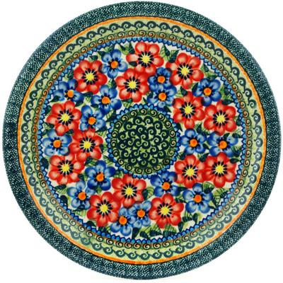 Polish Pottery 11-inch Plate | Boleslawiec Stoneware | Polmedia H0182A