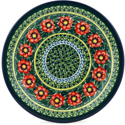 Polish Pottery 11-inch Plate | Boleslawiec Stoneware | Polmedia H4084C