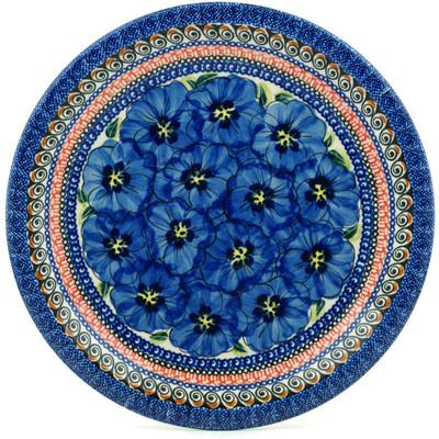 Polish Pottery 11-inch Plate | Boleslawiec Stoneware | Polmedia H8683B