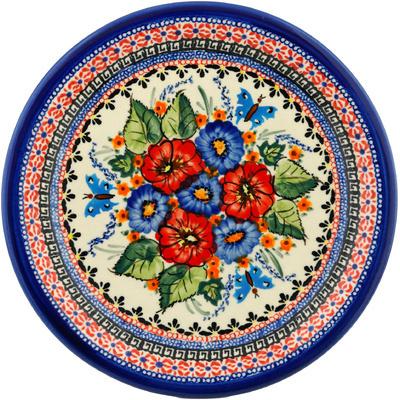 Polish Pottery 11-inch Plate | Boleslawiec Stoneware | Polmedia H1593B