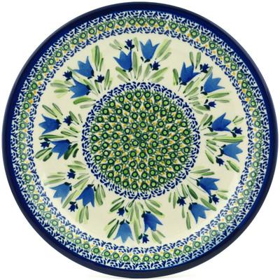 Polish Pottery 11-inch Plate | Boleslawiec Stoneware | Polmedia H1876C