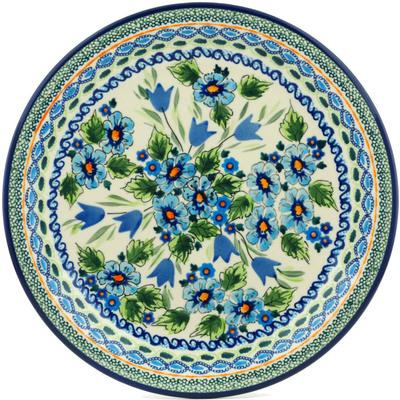 Polish Pottery 11-inch Plate | Boleslawiec Stoneware | Polmedia H9931B