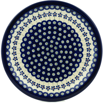 Polish Pottery 11-inch Plate | Boleslawiec Stoneware | Polmedia H0189A