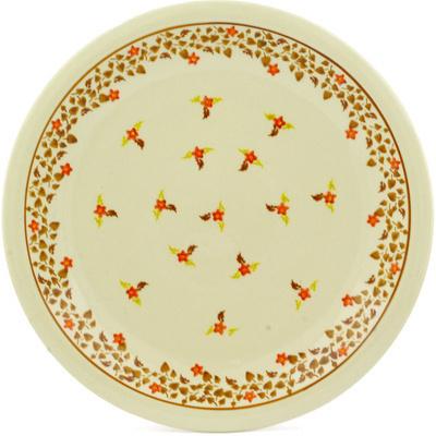 Polish Pottery 11-inch Plate | Boleslawiec Stoneware | Polmedia H8613E